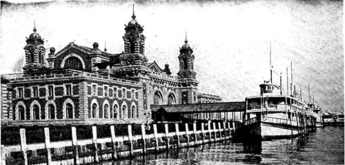Ellis Island, The Receiving Station for Immigrants