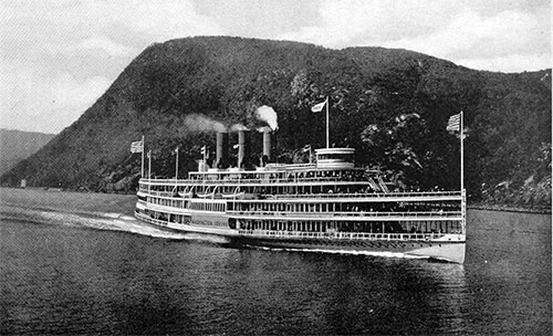 Type of Coastwise Passenger Steamer