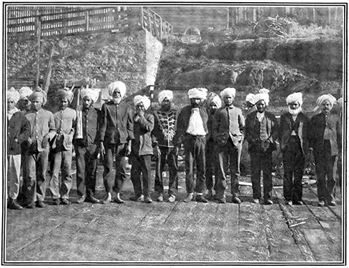 Ex-Hindu Soldiers at Victoria, BC.