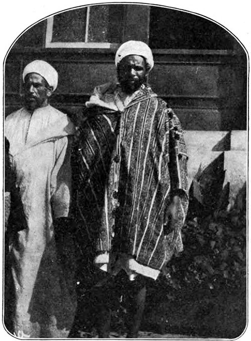 Two African Arabs, Awaiting the Medical Examination.