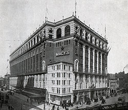 Macy's at Herald Square in New York City - 1906
