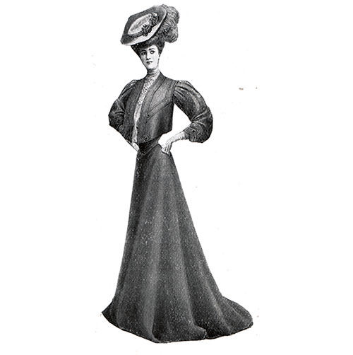 A Fenwick Coat and Skirt