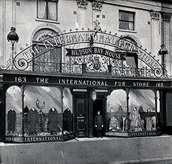 The International Fur Store Hudson Bay House