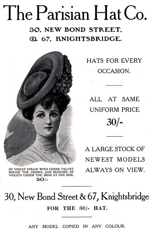 Parisian Hat Co. London - Hats for Every Occasion  6b8b7c699d8