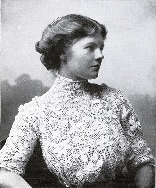 Irish Industries Lace Blouse - 1911