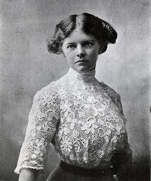Irish Industries Lace Blouse 1910