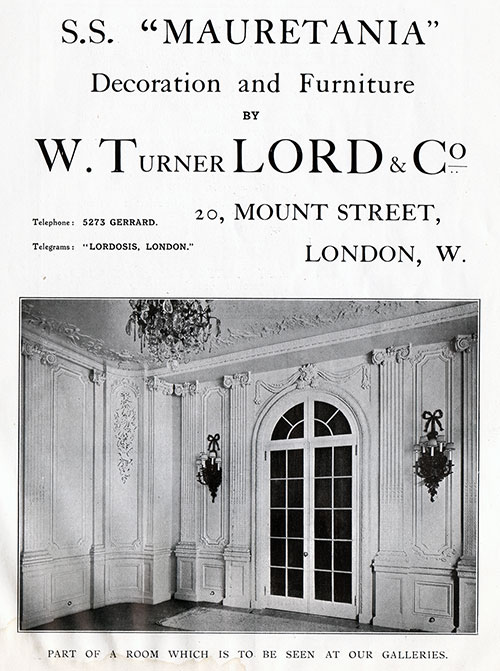 Turner Lord & Co – Exquisite Furnishings and Decorative Work