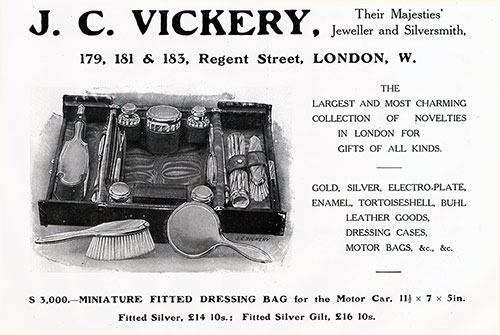J. C. Vickery: Jeweler, Silversmith, and Leather Goods Manufactures