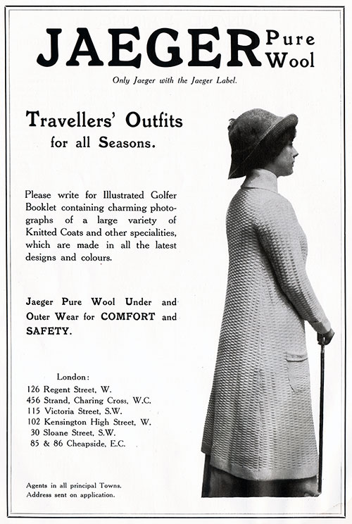 Jaeger Pure Wool - Traveler's Outfits for all Seasons