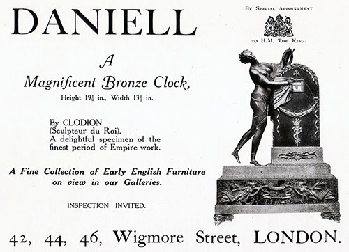 Daniell Fine Collection of Early English Furniture