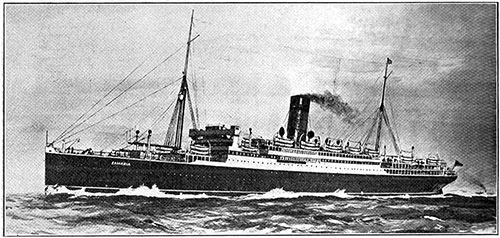 The RMS Samaria, Launched on 27 November 1920 at Birkenhead, is one of Cunard Line's new 21,000-Ton Class.