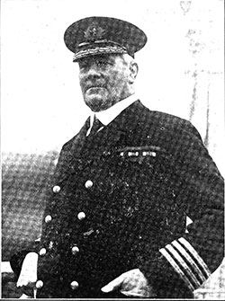 Sir James Charles, C.B., K.B.E., R.D., Fleet Commodore of the Cunard Line.