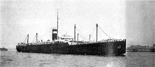 The Atlantic Transport Line Steamer Minnekahda, 17,200 Tons Register, in the New York-Hamburg-Danzig Service is the World's Largest Third-Class Liner.
