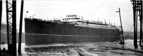 The New Oil Burning Cunarder Andania.