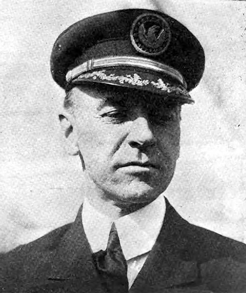 Captain Herbert Hartley, Commander of the SS Leviathan.