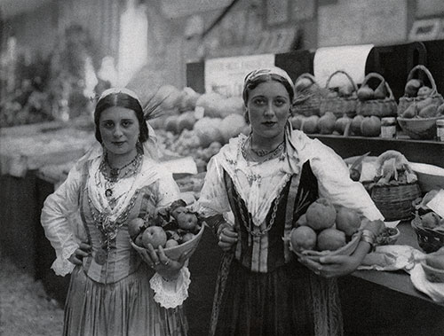 Fruit Maidens of Rome.
