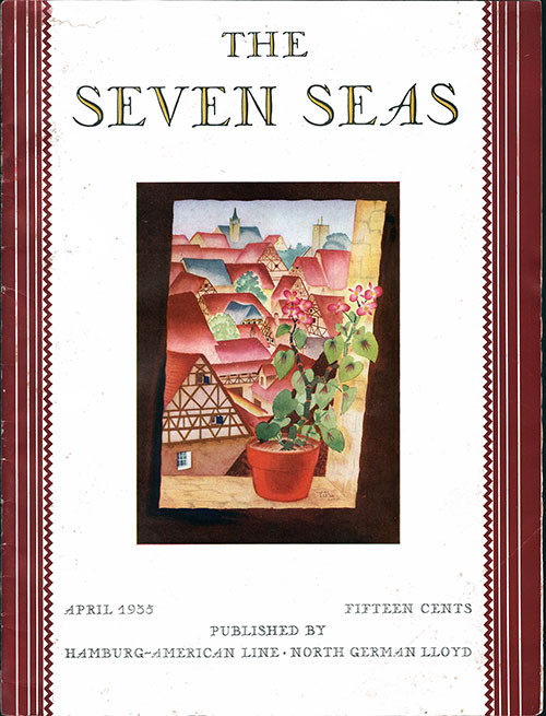 Front Cover of the April 1935 Issue of The Seven Seas