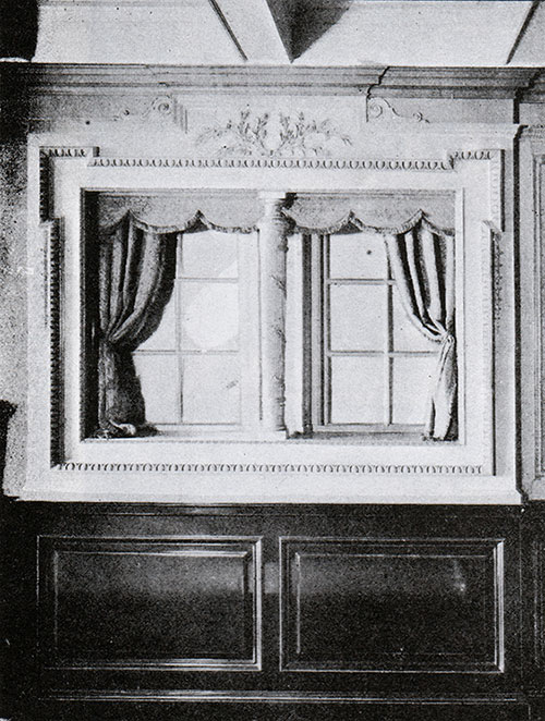 Fig. 116: Windows in Second Class Libary.