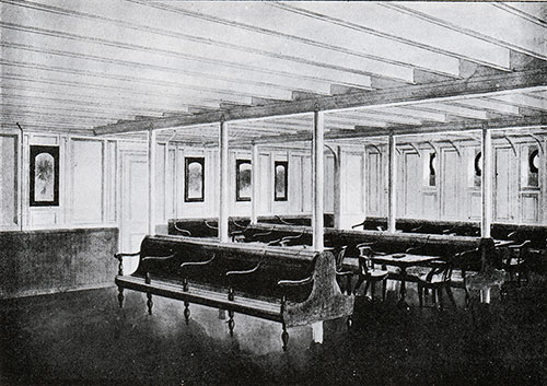 Fig. 119: Third Class General Room.
