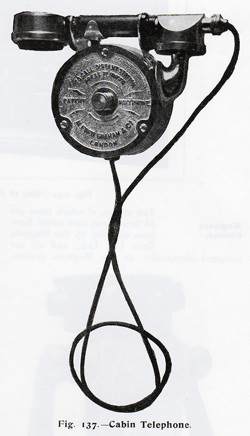 Fig. 137: Cabin Telephone