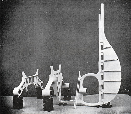 Fig. 17: Arrangement of Stern Castings.