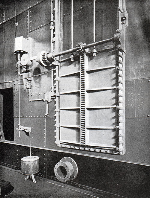 Fig. 21: Double Cylinder Watertight Door.