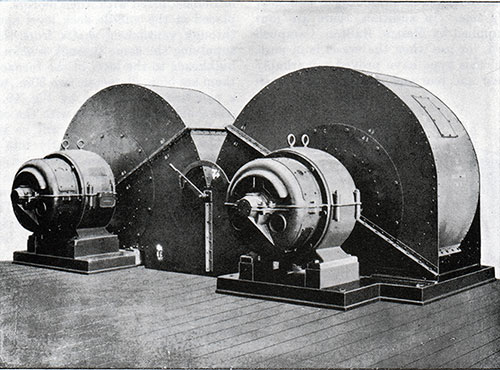 Fig. 49: Two of the Stokehold Fans.