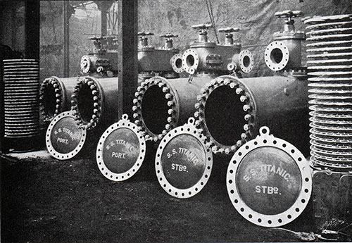 Fig. 65: Main Feed Filters of the Titanic.