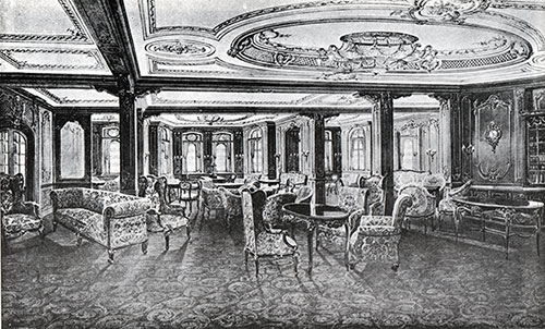 Fig. 79: First Class Lounge.