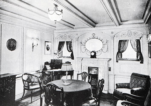 Fig. 94: Sitting Room of Parlour Suite.