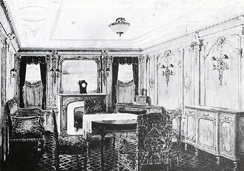 Fig. 96: Sitting Room of Parlour Suite, Room C-56 in the Style of Louis Quatorze.