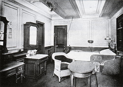 Fig. 100: Special First Class Stateroom, B-63.