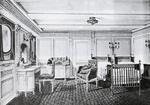 Fig. 102: Special Stateroom C-84 in the Style of Adams.