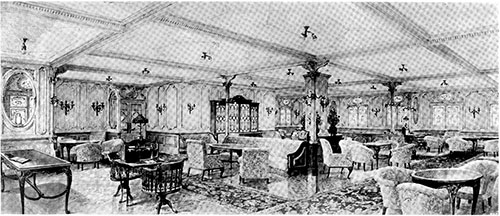 The First Class Lounge.