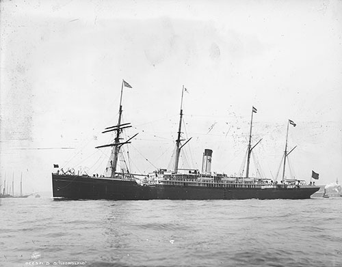 SS Noordland of the American Line