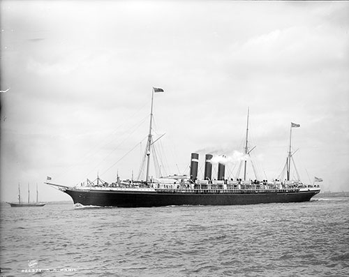 S.S. Paris of the American Line