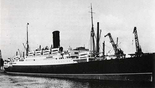 SS California III of Anchor Line - 1923