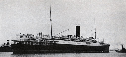 S.S. Cameronia II of the Anchor Line - 1920
