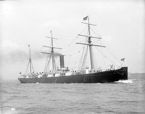 The SS Circassia of the Anchor Line