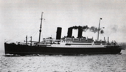 SS Transylvania II of the Anchor Line - 1925