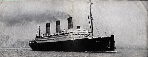 The S.S. Berengaria of the Cunard Line circa 1920