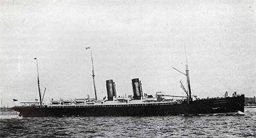 RMS Etruria of the Cunard Line
