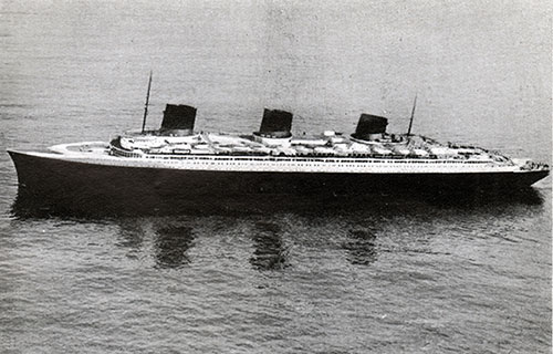 The S.S. Normandie, Flagship of the CGT French Line