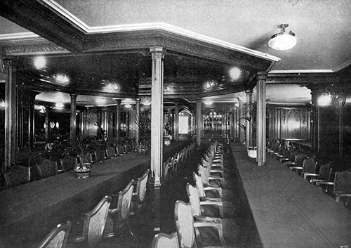 Second Class Dining Saloon