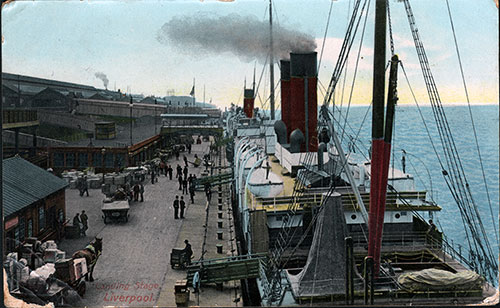 Well-Done Colorized Glossy of Liverpool Landing Stage