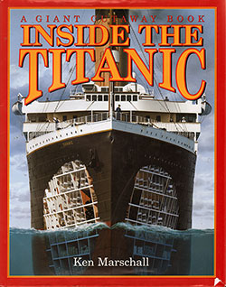 Front Cover, Inside the Titanic: A Giant Cutaway Book, 1997.