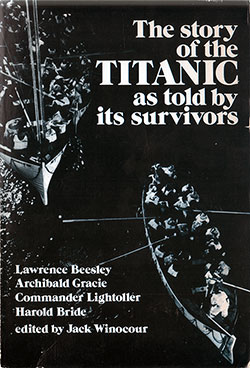 Front Cover of The Story of the Titanic as Told by Its Survivors