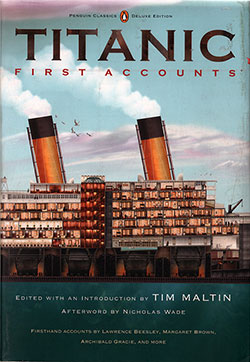 Front Cover of Titanic: First Accounts