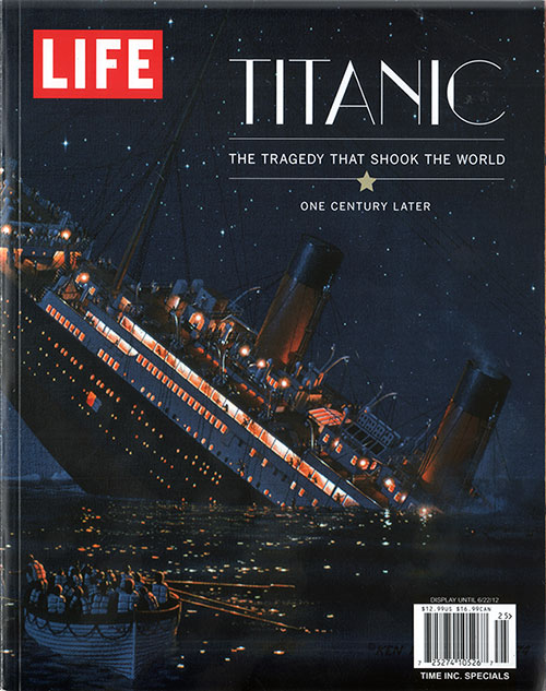 Front Cover of Titanic: The Tragedy that Shook the World - One Century Later.