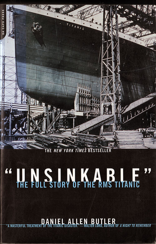"Front Cover, ""Unsinkable"": The Full Story of the RMS Titanic - 2002"